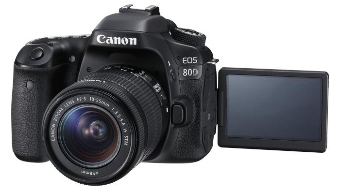 EOS 80D EF-S 18-55mm IS STM LCD Open FSL